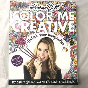 Colour me creative artbook
